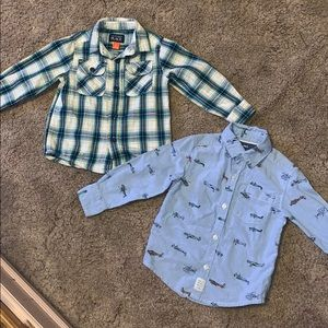 Boys button up size 2t